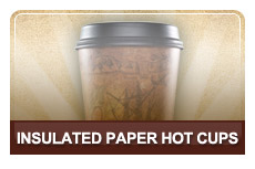 Insulated Paper Hot Cups & Lids