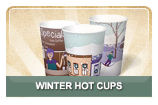 Winter Hot Cups