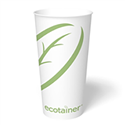 32 oz. ecotainer® Paper Cold Cup