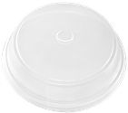 LFTDHP-16 Clear, Dome Polypropylene Hot/Cold Food Lid  (1000/Case)