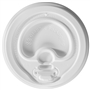 10/12/16/20/24 oz. Lock-Back Dome/White Paper Hot Cup Lid