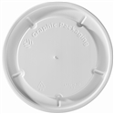 16/24/32 oz. Hot/Flat/White Paper Food Container Lid