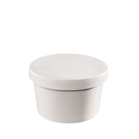 12 oz. Food Container & Paper Lid Combo