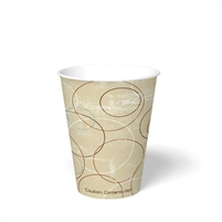 12 oz. Champagne Paper Hot Cup