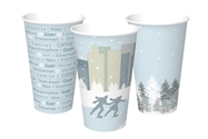 12 oz. Winter Design Paper Hot Cup