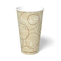 20 oz. Champagne Paper Hot Cup