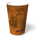 24 oz. Old World® Hold & Go® Insulated Paper Hot Cup