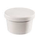 32 oz. Food Container & Paper Lid Combo