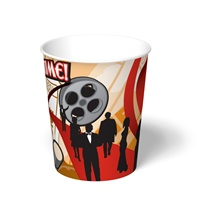 "32 oz. Showtimeâ""¢ Popcorn Paper Food Container"