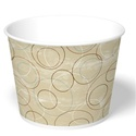 130 oz. Champagne Paper Food Bucket
