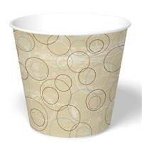 170 oz. Champagne Paper Food Bucket