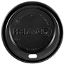 8 oz. Hold & Go® Dome/Black Paper Hot Cup Lid