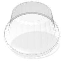 12 oz. Cold/Dome/Clear Paper Food Container Lid