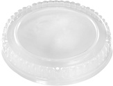 54/85 oz. Plastic Dome/Clear Paper Bucket Lid
