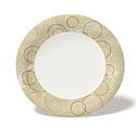 "9"" Champagne Medium Weight Paper Plate"