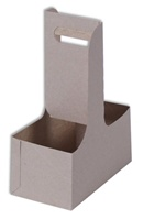 2 Cell Kraft Cup Carrier